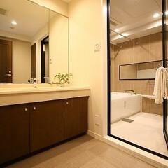 風呂/リノベーション/マンション リノベーションでホテルのようなバスルームに