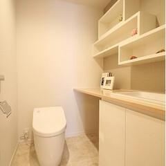 リノベーション/マンション/トイレ トイレをリノベーションで個室のような空間…