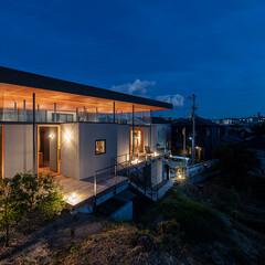 住まい/インテリア/建築/四畳半キューブの家/平屋/リビング/... 四畳半キューブの家