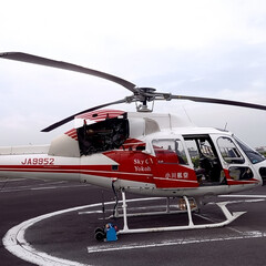 GoToキャンペーン/旅行 GO TOキャンペーンで横浜へ ヘリコプ…(1枚目)