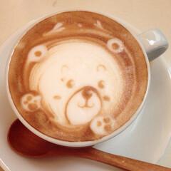 「藤沢【8.CAFE】  ラテアート♡  …」(1枚目)