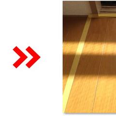 フローリング/床/凹み/キズ/補修/修理/... フローリング凹み補修