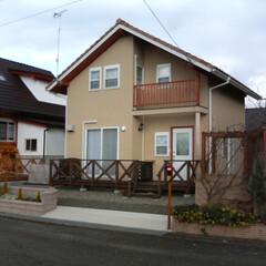 新築/風家/高気密高断熱/自然素材 ログハウス建築予定の別荘を風家仕様で新築…