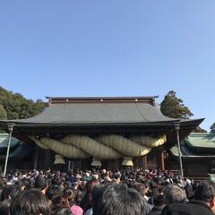 嵐/晴天/初詣/お正月/おでかけ 嵐で話題になった地元の神社( ˊᵕˋ* …