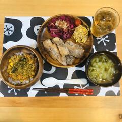 カレー/ドライカレー/アカシア/和食/こどもがいる暮らし/夜ごはん/... 昨日の夜ごはんはドライカレーでした♡ ▶…