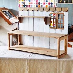収納棚/折りたたみ式棚/DIY/ハンドメイド/インテリア/家具/... 久しぶりの投稿です。。 折りたたみ式の収…