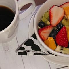 バナナヨーグルト/フルーツボール/LIMIAごはんクラブ/フォロー大歓迎/わたしのごはん/おうちごはんクラブ/... おはようございます(*^^*) お休みの…(2枚目)