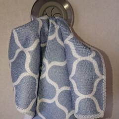 ダルトン Towel holder Square タオルホルダー CH04-H116 | DULTON(物干しハンガー、ピンチ)を使ったクチコミ「おはようございます(*^^*) ダルトン…」