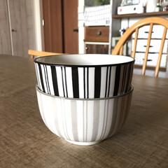 食器/キャンドゥ新商品/キャンドゥ/キッチン雑貨/おしゃれ/暮らし/... キャンドゥ新商品、「縦縞のどんぶり茶碗」…(3枚目)