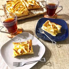 アップルパイ/おやつ/ナチュラルキッチン/お菓子作り/おうちカフェ/100均/... りんごの美味しい季節になりましたよね♪り…