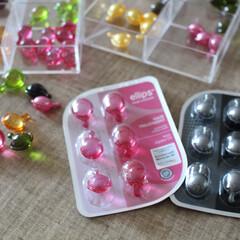 プチプラ/ヘアケア/キャンドゥ/雑貨/100均/雑貨だいすき キャンドゥで売られているエリップスとミラ…