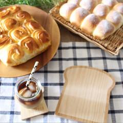 WECK/無印良品/朝ごはん/木製トレイ/ナチュラルキッチン/雑貨だいすき/... ナチュラルキッチンの木製トレイトースト型…(1枚目)