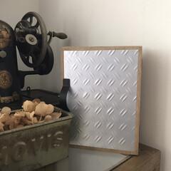 100均DIY/時計/時計収納/100均/セリア/簡単/... セリアの木箱で作ったシンプルキーボックス…(2枚目)