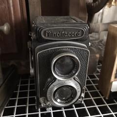 ノスタルジック/アンティーク/インテリア/カメラ/昭和レトロ/雑貨だいすき/... 数年前に下北沢の古道具屋さんで購入した二…
