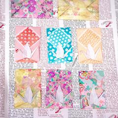 手作り/お年玉袋/折り紙/ポチ袋/あけおめ/フォロー大歓迎/... 折り紙でポチ袋を作ってみました。