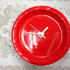 時計/紙皿/DIY/雑貨/100均/ダイソー