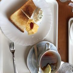 紅茶/TEA/300円/モーニング/LIMIAおでかけ部/おでかけ/... 朝から近くの喫茶店へ   これで、税込3…