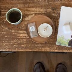 リラックス/読書/古家具/やちむん/お香/ひとり時間/... ひとり時間のために お香を用意してみまし…