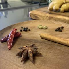夏バテ対策/夏バテ/家カフェ/ジンジャエール/生活の知恵/おうちごはん/... 香辛料の形が、かわいいです。  冷房の効…