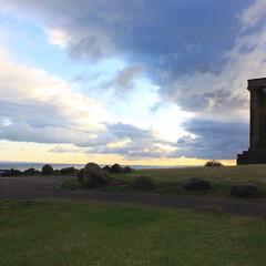 スコットランド/雲/朝/空/おでかけ/旅の思い出/... 時差ボケで早く目覚めることもあって、エデ…