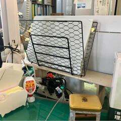 お仕事/DIY/100均/セリア 職場で書類提出ラックをこさえてみました。…