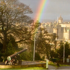 雲/海外/旅の思い出/旅/スコットランド/虹/... 今のところ人生最大の虹は、やはり別名虹の…(2枚目)