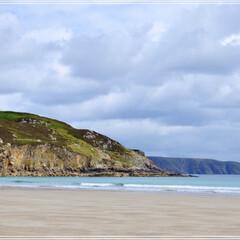 スコットランド/砂浜/夏の思い出/旅の思い出/海/おでかけ/... 6年前ですが心の中で全く褪せないこの海の…
