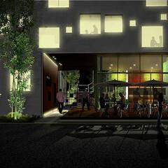 集合住宅 濱田設計測量事務所との共同設計による、大…