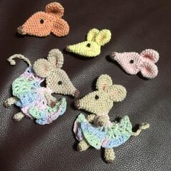 刺繍/編みぐるみ/ネズミ/来年/ダイソー/ハンドメイド さあ😉 12月 ハンドメイドの作り手は …