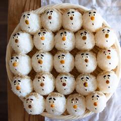 お米/ご飯/顔にぎり/おむすび/おにぎり 林家三平さん?  蛭子さん?    おじ…