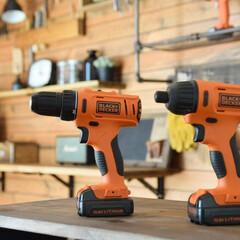 DIY/インパクトドライバー/ドリルドライバー/工具/DIY工具/ブラックアンドデッカー/...