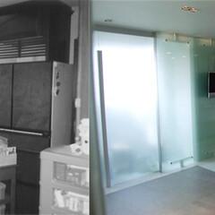 キッチン/マンション/リノベーション/マンションのリノベーション/建築家/建築家とつくる家 マンションのリノベーション すっきりとし…
