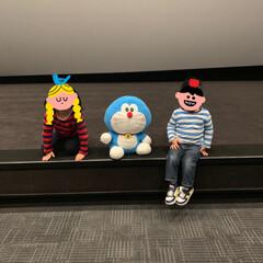 GAPKIDS/GAP/映画館/ドラえもん/映画ドラえもん/フォロー大歓迎 映画ドラえもんのび太の月面探査記📽 3歳…(2枚目)