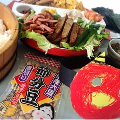 手巻き寿司/節分/フォロー大歓迎/わたしのごはん/おうちごはんクラブ/グルメ/... 👹節分👹 今日のお昼は手巻き寿司🍣 子供…
