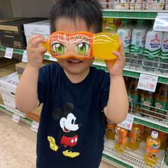 ファンタ オレンジ PET / ファンタ(炭酸飲料)を使ったクチコミ「CMを見て真似しました😂  今日はお仕事…」