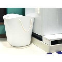 バルコロール/収納ボックス/洗濯かご/ランドリーボックス/ランドリー/洗面所インテリア/... 洗面所においている、汚れたもの用のランド…