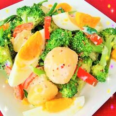 サラダ/ブロッコリー/ご馳走サラダ/デリサラダ/タマゴ