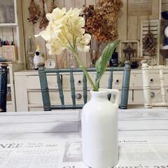 花瓶/フラワーベース/100均/ダイソー ダイソーのフラワーベースが可愛い(*´꒳…