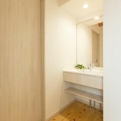2階/洗面 2階に洗面台を設置しました。1階の洗面所…
