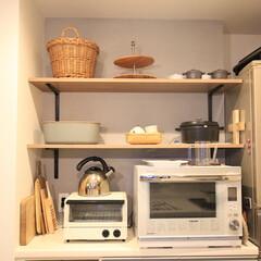 珪藻土/オープン棚/キッチンリフォーム/マンションリフォーム/収納リフォーム 食器棚の吊り戸棚を撤去してオープン棚を造…