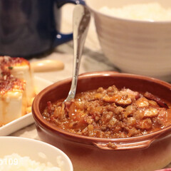 グラタン皿/ニトリ/ハンバーグ/煮込みハンバーグ/オーブン料理 ミートたっぷりの、煮込みハンバーグ♬ハン…