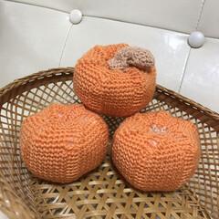 ハロウィン/パンプキン/かぼちゃ/インテリア/ハンドメイド かぼちゃ🎃いっぱい収穫しました(笑) み…(1枚目)