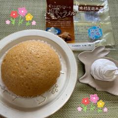 おうちカフェ/おうち時間/不要不急の外出自粛/美味しい/ホイップ/ジャンボむしケーキ/... こんにちは(^_^) いつもありがとうご…(1枚目)