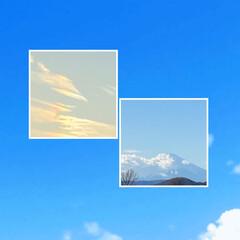 晴れ/子年/ねずみ年/綺麗な空/景色/雪山/... こんばんは(o^^o) いつありがとうご…