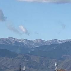 山の写真/晴れ/冬到来/冬/景色/雪山/... こんばんは(o^^o) いつもありがとう…