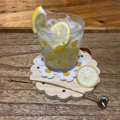 レモンソーダ/レモン炭酸水/レモン水/2020年/2020年/おうちで過ごそう/... こんにちは(o^^o) いつもありがとう…