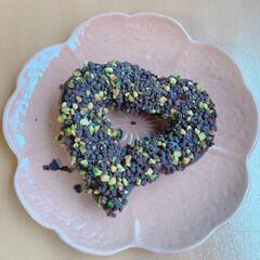 ブレッド/パン/スイーツ/いつもありがとうございます/ドーナツ/ハートチョコドーナツ/... こんばんは(^_^) いつもありがとうご…(1枚目)