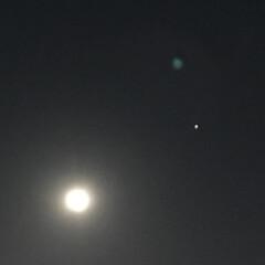 ナチュラルな暮らし/ナチュラル/綺麗な月/綺麗な満月/夜空/月/... こんばんは(o^^o) いつもありがとう…