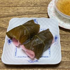 桜餅/カフェトレー/カフェ風雑貨/カフェ風/美味しい/おいしい/... こんにちは(o^^o) いつもありがとう…