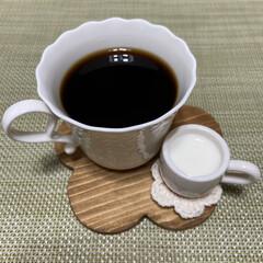 ナチュラルな暮らし/コーヒーブラック/コーヒー/コーヒータイム/カフェタイム/おうちで過ごそう/... こんにちは(o^^o) いつもありがとう…